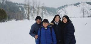Família no Canadá